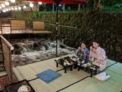 Kibune-Ryokan-Yukadoko-Dinner, Japan Tours, RediscoverTours.com