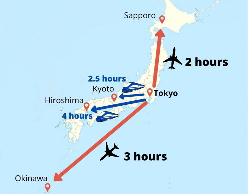 Travel Time - Tokyo, Japan Tours, RediscoverTours.com